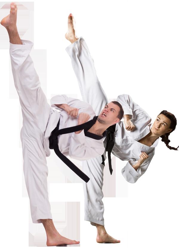 man-woman-high-kick